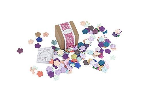PAPERBLOOMS Seedbombs - Blühende Konfetti Blumen bunt, Blumensamen als als Weihnachtsgeschenk