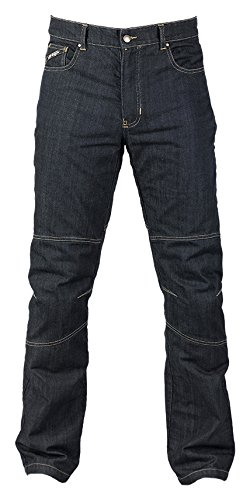 Motorbroek Jeans Kevlar Furygan D02 Size 42 Denim blauw