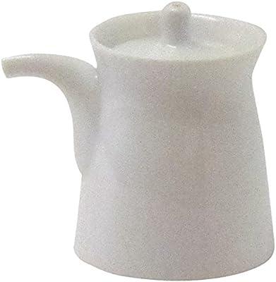 白山陶器 G型しょうゆさし 小 白磁 (約)φ5.6×7.2cm 80ml 波佐見焼 日本製