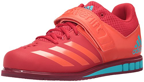 adidas Originals Men's Powerlift.3.1 Cross Trainer, Scarlet/Energy/Collegiate Burgundy, 14.5