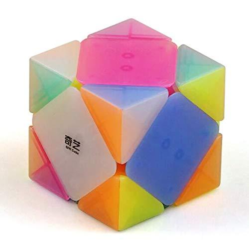 cuberspeed Qiyi QiCheng Skewb Jelly Cube Mo Fang Ge QiCheng Skewb Jelly Speed Cube