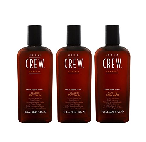 American Crew 3 er Pack American Crew Classic Body Wash 450 ml Duschgel