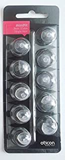 Oticon 12 mm Single Vent Bass Dome. Pack of 10