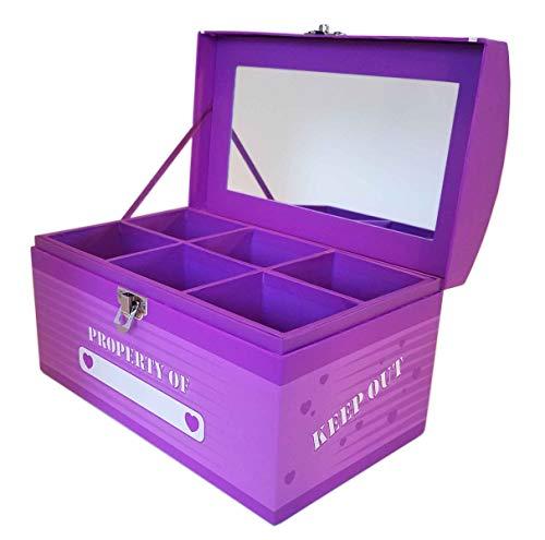 Treasure Chest Box - Purple Dream