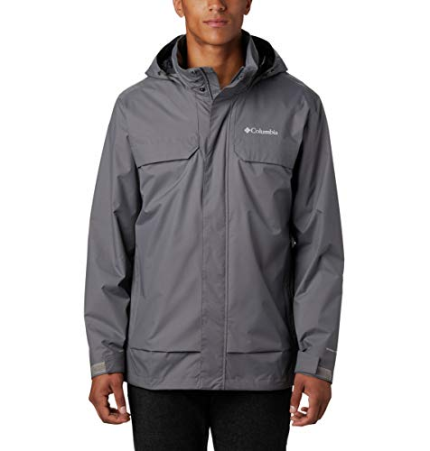 Columbia Chaqueta Tryon Trail para hombre, impermeable y transpirable