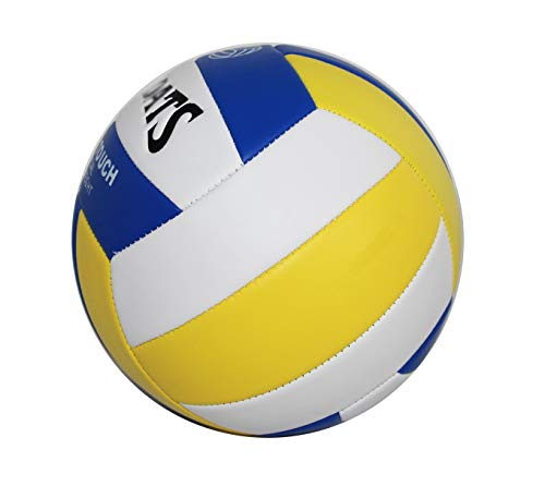 rukauf Volleyball Soft Touch Nummer 5 für Beach-Volleyball Allround-Ball