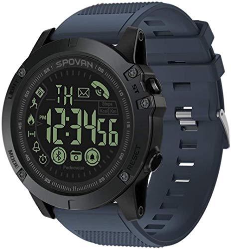 Reloj deportivo inteligente fitness pulsera monitor de ritmo cardíaco impermeable IP68 podómetro pulsera hembra macho compatible iPhone Android teléfono móvil