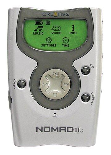 Creative Labs NOMAD IIc 128 MB MP3 Player