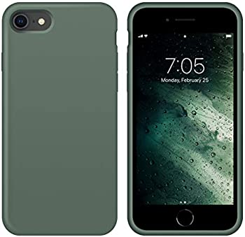 OUXUL Slim Soft Liquid Silicone Gel Rubber Case for iPhone SE 2020