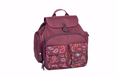 Babymoov A043559 Wickeltasche Glober Bag, cherry