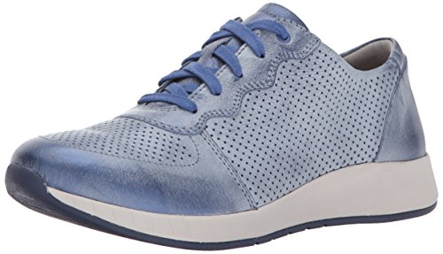 Dansko Women's Christina Blue Metallic Sneakers 8.5-9 M US