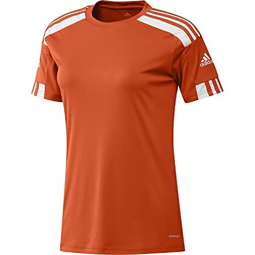 adidas GN8087 Squad 21 JSY W T-Shirt Donna Team Orange/White L