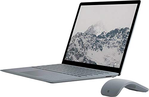 """Microsoft Surface 13.5"""" LCD (2256 x 1504) Touchscreen Ultrabook Laptop, Intel Core i5- 7200U 2.5GHz upto 3.1GHz, 4GB Memory, 128GB SSD, Intel HD 620, Backlit Keyboard, Windows 10 in S mode, With Mouse"""