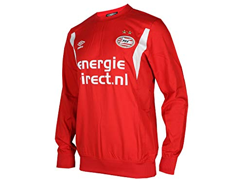 UMBRO PSV Eindhoven Training Drill Top rood Eredivisie voetbal Jersey PSV shirt