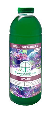 PlanktonPlus Aquaristik Phyto-Red Phytoplankton gegen Cyanobakterien im Meerwasseraquarium 1 Liter