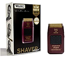 PROFESSIONAL PRECISION: From Wahl Professional's commercial grade line of products, the 5-Star Shaver/Shaper is intended for professional use only and is engineered to deliver the sharp performance that experts demand. STYLISH AND FUNCTIONAL: This po...