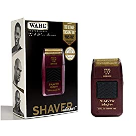 - 41R93WHOf3L - Wahl Professional 5-Star Series Rechargeable Shaver/Shaper #8061-100 – Up to 60 Minutes of Run Time – Bump-Free, Ultra-Close Shave