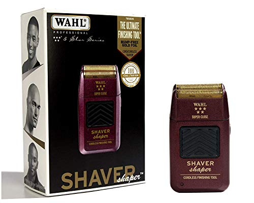 Wahl Professional 5-Star Series Rechargeable Shaver/Shaper #8061-100 - Up to 60...