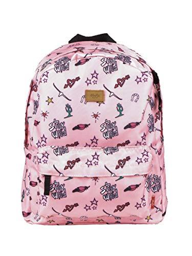 Barts Rucksack Backpack Dolphin Backpack dunkelblau oder rosa Kindermotiv (081 Dusty pink, one-Size)