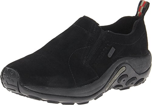 Merrell Women's Jungle Moc Waterproof Slip-On Shoe,Black,8.5 M US