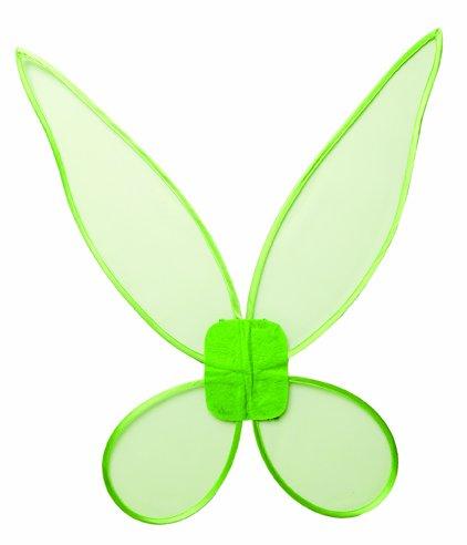 Kostüm Zubehör Flügel Feenflügel grün Elfe Kostüm Karneval Fasching