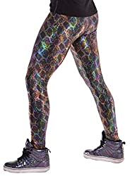 Men's snake skin leggings.