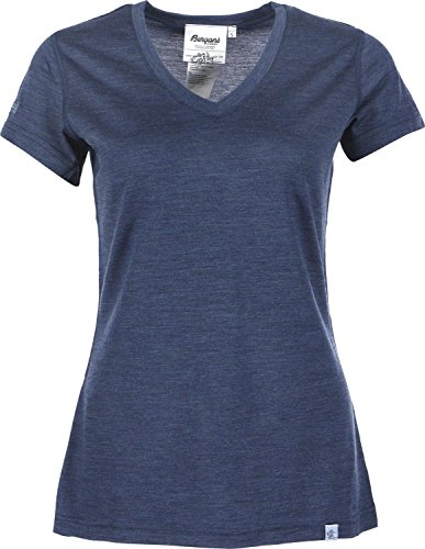 Bergans Bloom - T-shirt manches courtes Femme - bleu Modèle XS 2016 tshirt manches courtes
