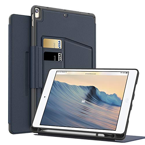 MEYIFEN iPad Air 3 Generation/Case for iPad Air 3 10.5 2019 with Pencil Holder, Ultra Slim Lightweight Multi-Angle Viewing Comfortable Mannetic Stand Auto Wake Up Sleep 10.5 Pollici blue