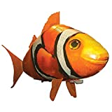AILSAYA Remote Control Flying Fish RC Inflatable Balloon Air Swimmer Flying Nemo Clown Fish Blimp Toys DIY