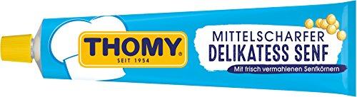 Thomy Delikatess-Senf mittelscharf, 100 ml