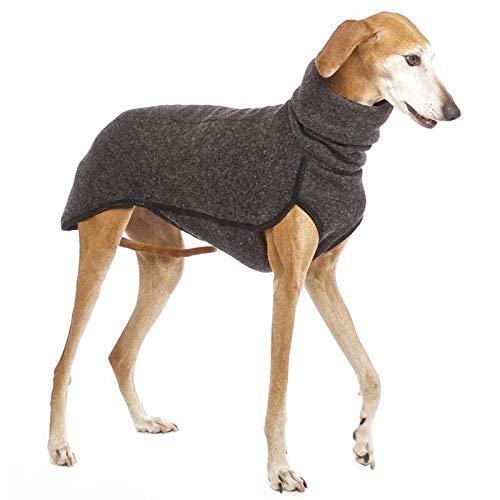 LIUCHANG Ropa de cuello alto para perros medianos y grandes abrigos de invierno para perros grandes (color: gris oscuro, tamaño: 3XL) liuchang20
