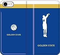 【全機種対応】 iPhone スマホケース バスケ(アウェイ ゴールデンステイト 30番 I)ステフィン カリー ウォリアーズ 16 iPhoneSE(2020)