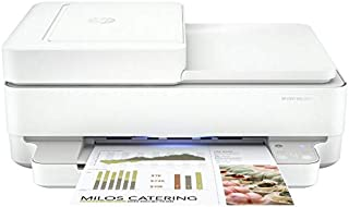 HP Envy Pro 6420 All-in-One Wi-Fi Printer+FAX+AirPrint P/N:5SE46A White - NES