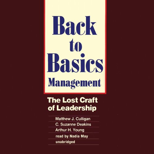 Back to Basics Management audiobook cover art