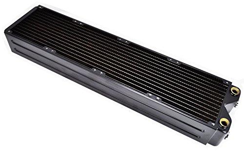 Computer Wasser Kühlung Kupfer Radiator Coolgate CG-480G2 Hochleistung 65 mm Dick, pannensicher, 1,5 mm Schmales Durchlaufrohr