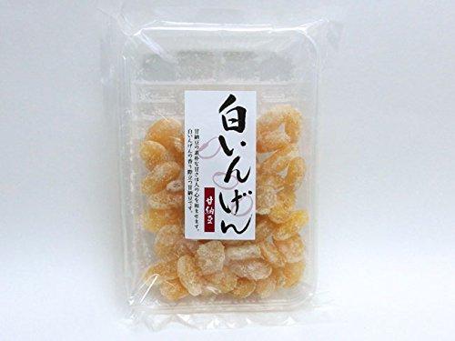 白いんげん甘納豆 (白インゲンの香り際立つあまなっとうです) 手亡豆の和菓子 豆のおやつ 豆菓子