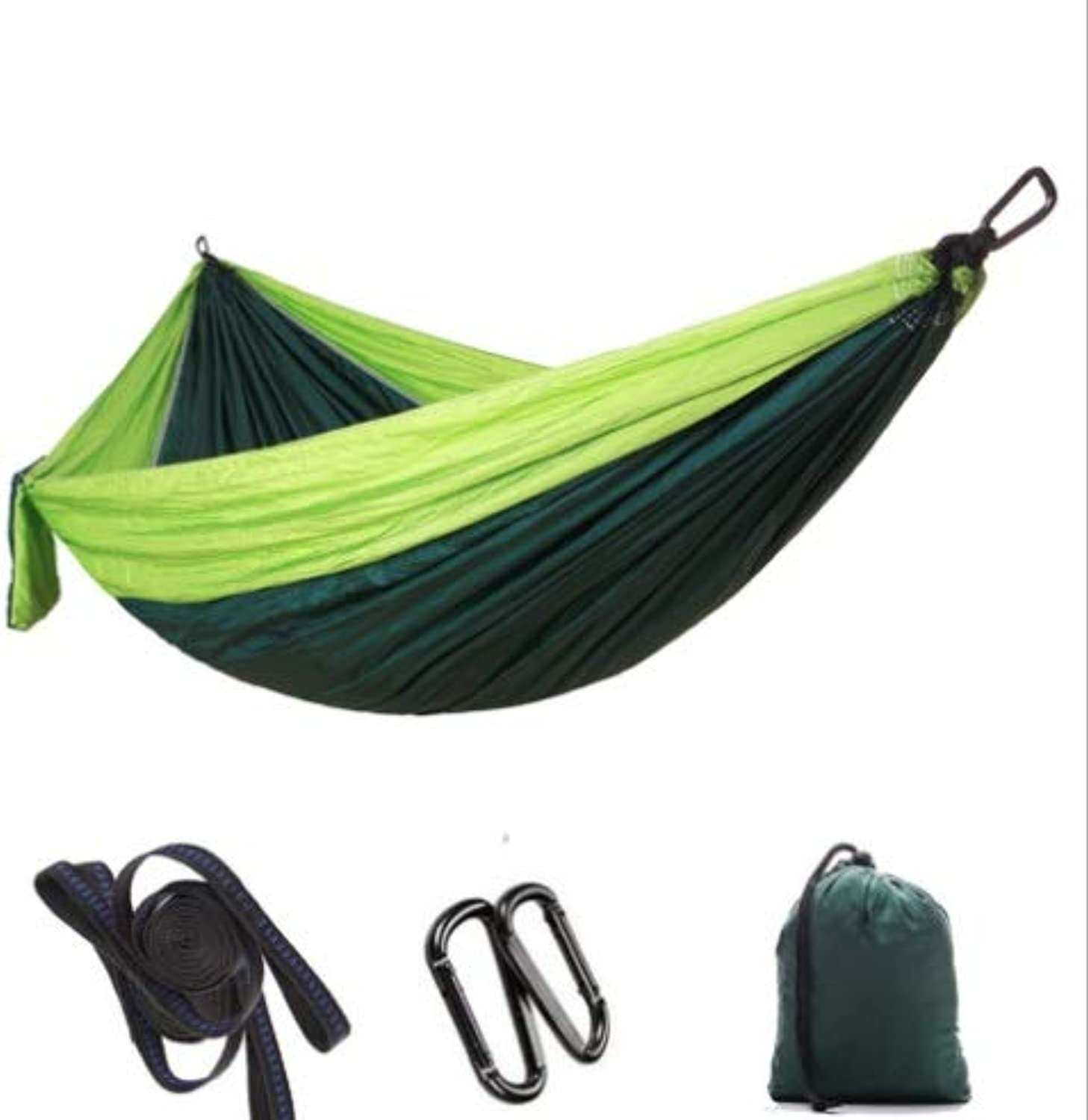 Parachute Cloth Hammock Outdoor Camping Swing 300  200 Double lengthening widening Ultra Light Supplies