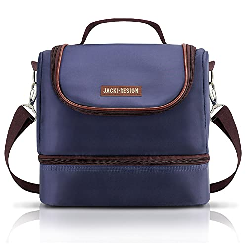 For Men 2 Deck Insulated Lunch Bag