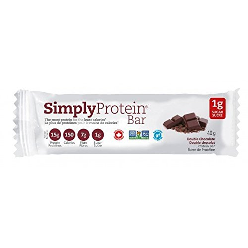 Simply Protein Double Chocolate Bar, 15 Pack
