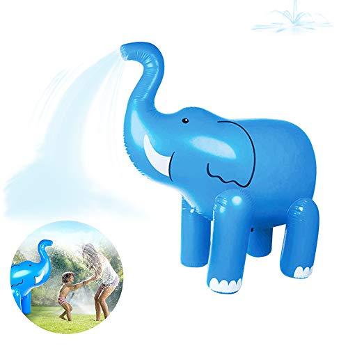 FDYD Juguete Inflable del Agua de riego Elefante muñeca PVC Padres e Hijos Interactivo Aerosol de Agua Juguete del Verano de los niños Juego ficticio