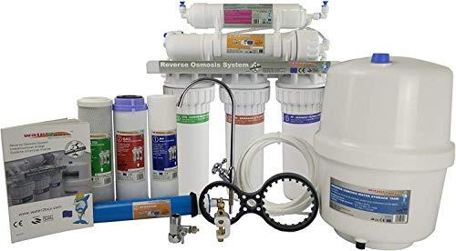 Water2buy Osmosi Inversa RO500 | Sistema di osmosi inversa a 5 stadi senza pompa