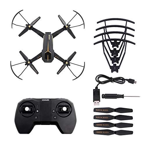 WYLZLIY-Home Mini Drohne RC Quadcopter Drone Folding Quadcopter HD WiFi Kamera Faltbare Done LED Light Headless-Modus, Höhenlage, Start Mit Einer Taste VISUO XS812 GPS 5G 2,4 GHz