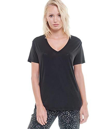 Le Temps des Cerises FLOLA00000000MC T-Shirt, Nero, L Donna