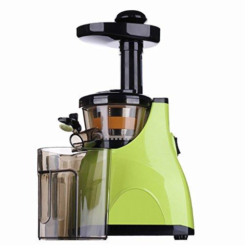 H Juicer Saftige Maschine AutomatiscMultifunktions - Saftpresse Langsam - Schleifmaschine Low - Speed Babysaft Entsafter Entsafter,Grün,28 * 18 * 45cm