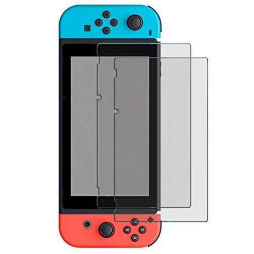 Timorn Switch Schutzfolie, Switch Folie,Displayschutzfolie Switch, HD Clear Anti-Scratch Switch Folie Panzerglas(2 Stück)