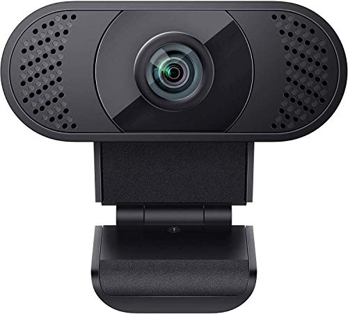 2021 Business Webcam with Microphone, wansview 1080P USB 2.0 PC Web Camera for Laptop, Computer, Desktop, Plug and Play, for Live Streaming, Video Chat, Conference, Recording, Online Classes, Game