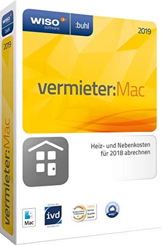 Preisvergleich Produktbild Buhl Data WISO vermieter:Mac 2019 - Miet-Nebenkosten auf dem Mac abrechnen 2018 / 2019 / 1 Gerät / 1 Jahr / Mac / Disc / Disc