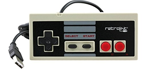 Retro-Link Wired NES Style USB Controller
