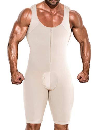DoLoveY Men's Shapewear Bodysuit Full...