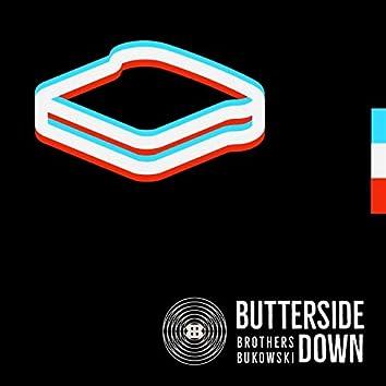 Butterside Down